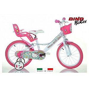 Otroško kolo 16'' Dino Bikes Hello Kitty