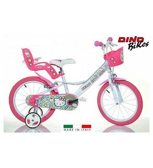 Otroško kolo 16 Dino Bikes Hello Kitty