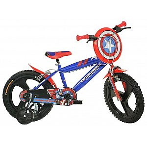 Otroško kolo 16'' Dino Bikes CAPTAIN AMERICA