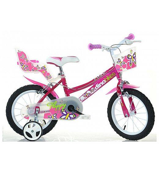 Otroško kolo 16 Dino Bikes SERIE 26 GIRL FUXIA