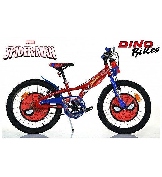 Otroško kolo 20 Dino Bikes Spiderman