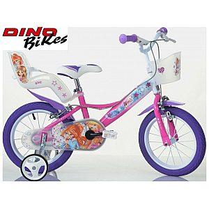 Otroško kolo 14'' Dino Bikes WINX