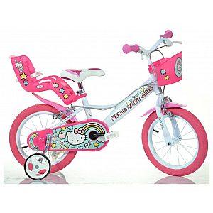 Otroško kolo 14'' Dino Bikes Hello Kitty