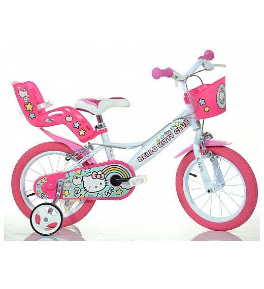 Otroško kolo 14 Dino Bikes Hello Kitty