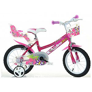 Otroško kolo 14'' Dino Bikes SERIE 26 GIRL FUXIA