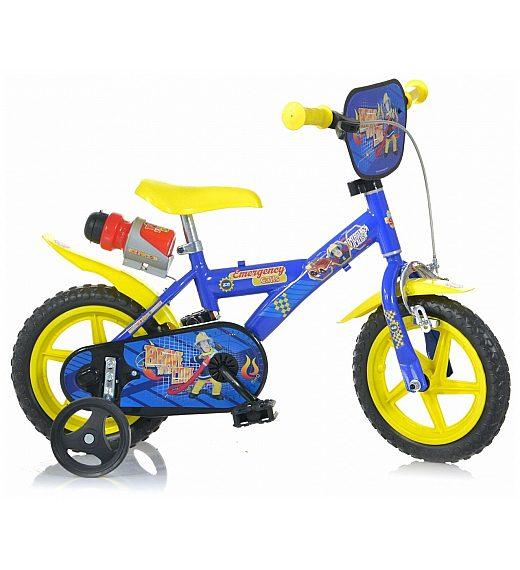 Otroško kolo 12 Dino Bikes GASILEC SAMO