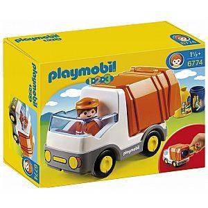 Playmobil Smetarski tovornjak 1.2.3.