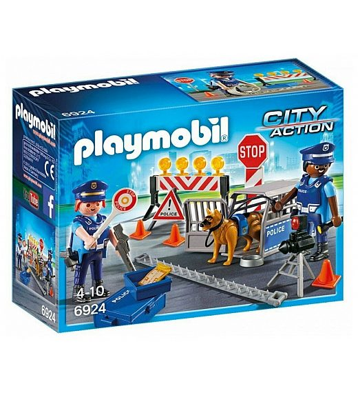 Playmobil Policijska zapora 6924