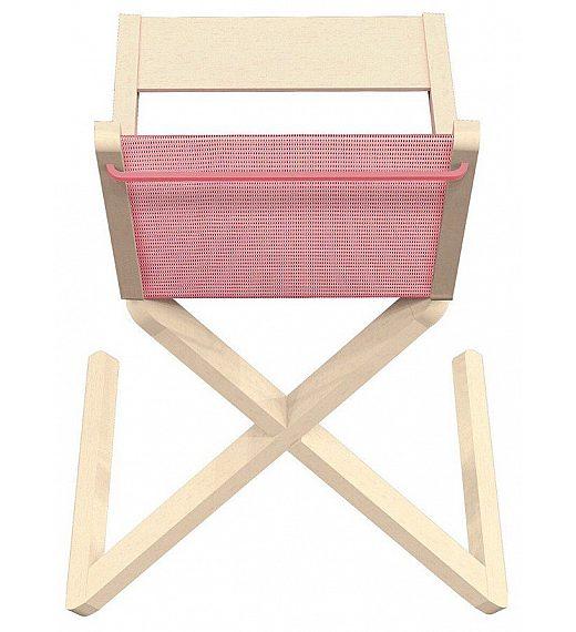 Albero bambino KANGAROO Rosa Antico - stolček za hranjenje