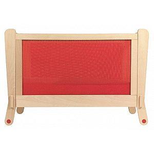 Lesena postelja Albero Bambino LETTINO Red