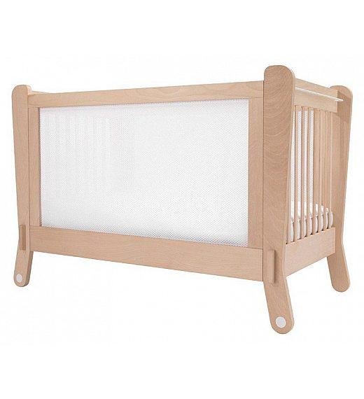 LETTINO ELECTROMAGNETIC WHITE Albero Bambino - Lesena postelja
