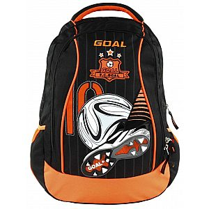 Anatomski šolski nahrbtnik light backpack Football Black