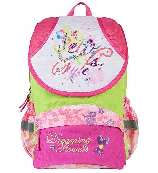 Šolska torba - šolski nahrbtnik ST-01 DREAMING FLOWERS 17473