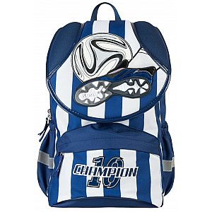 Šolska torba - šolski nahrbtnik ST-01 GOAL BLUE 17870