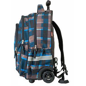 Trolley ALLOVER 21432 - šolska torba na kolesih