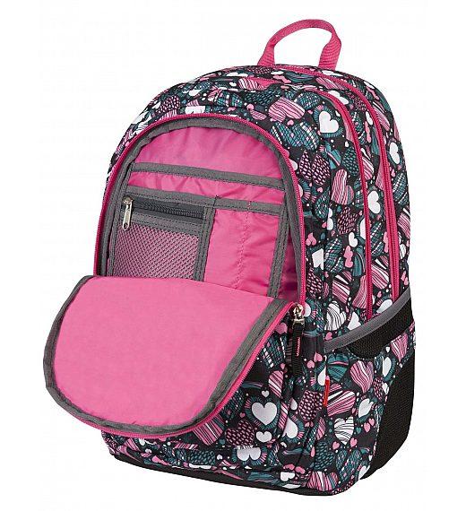 Target 3ZIP ENDLESS LOVE 18057 - šolski nahrbtnik, šolska torba