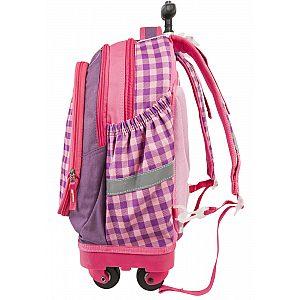 Target SMART Trolley Magic garden 17931 - šolska torba na kolesih