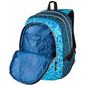 Target 3ZIP Ocean Leaves 26295 - šolski nahrbtnik, šolska torba