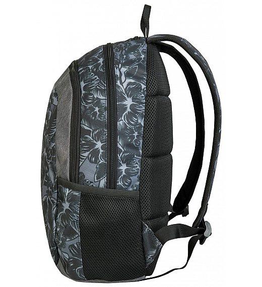 Target ICON Grey Flowers 26798 - šolski nahrbtnik, šolska torba