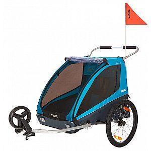 Thule Coaster XT Bike Trailer + Stroll - multifunkcijska prikolica za kolo 4 v 1