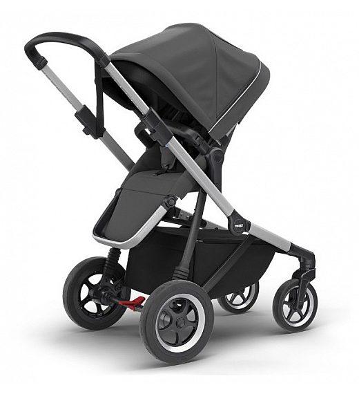 Thule SLEEK Shadow Grey - otroški voziček s košaro