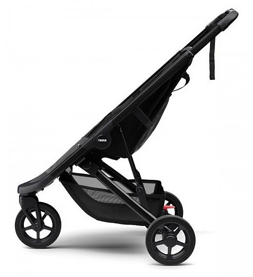 Thule SPRING BLACK s strehico - športni voziček