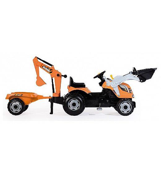 Otroški traktor na pedala Smoby Builder Max