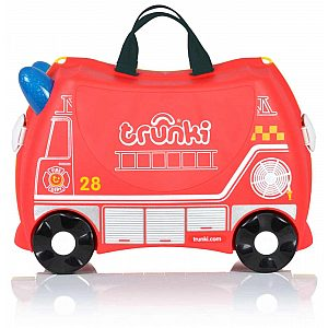Fireman FRANK (gasilec) - potovalni kovček