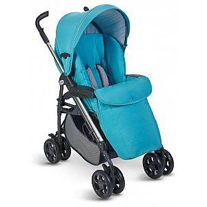 Otroški voziček Plebani D1 TRIO Azzurro