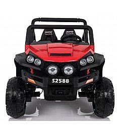 24V POLAR JEEP Babycar 4x4 - baterijski avto z daljincem rdeč