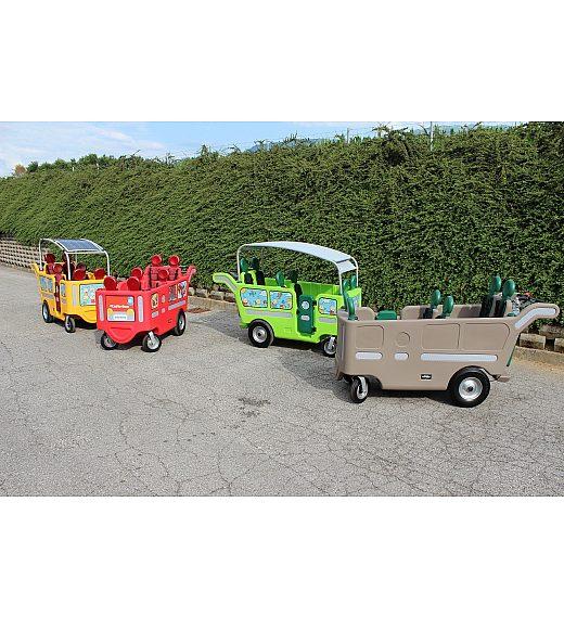 ItalTrike Espresso ELETTRICO - voziček za več otrok