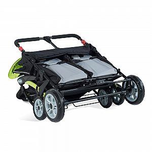 Foundations SPORT SPLASH QUAD Lime - voziček za več otrok