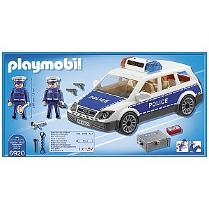 Playmobil POLICIJSKI AVTO Z LUČMI IN ZVOKOM 6920