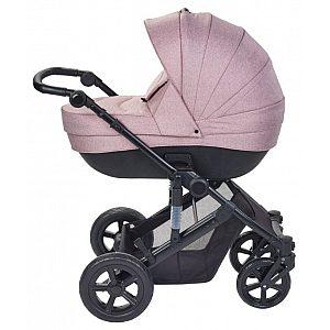 Voziček Plebani trio VIVO roza