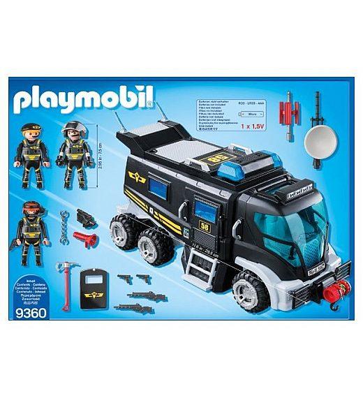Playmobil TOVORNJAK TAKTIČNE ENOTE 9360