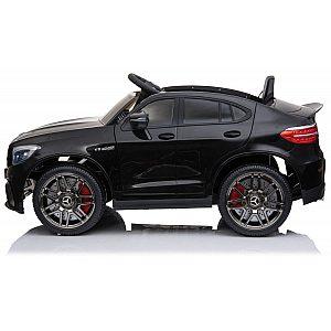 12V MERCEDES GLC 63 COUPE' Babycar črn - otroški električni avto