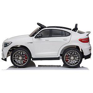 12V MERCEDES GLC 63 COUPE' Babycar bel - otroški električni avto