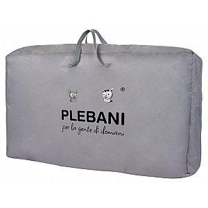 Obposteljna posteljica Plebani STELLINA Grey
