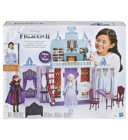 Grad Arendelle Frozen 2 - zložljiv grad