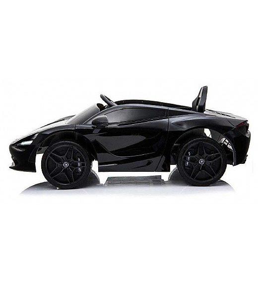 12V MCLAREN 720S Lamas Toys - avto na akumulator z daljincem črn
