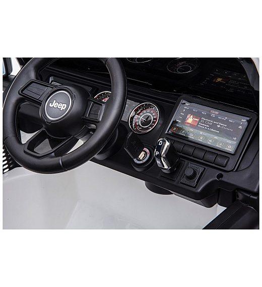 12V Jeep WRANGLER RUBICON Babycar bel - otroški električni avto