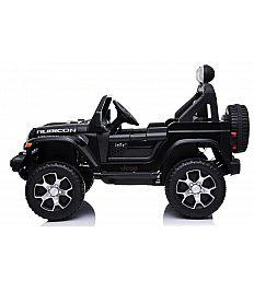 12V Jeep WRANGLER RUBICON Babycar črn - otroški električni avto