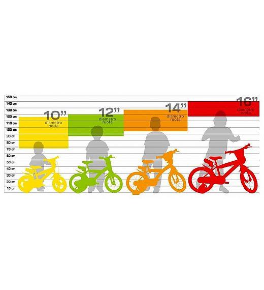 Otroško kolo 16 Dino Bikes LITTLE HEART