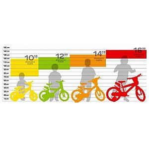 Otroško kolo 14'' Dino Bikes LITTLE HEART