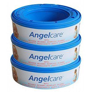 Kasete za plenice za koš Angelcare - 3kos