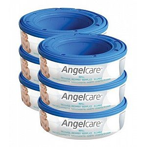 Kasete za plenice za koš Angelcare - 6 kos