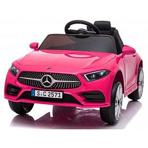 12V MERCEDES CLS 350 AMG  pink - otroški električni avto