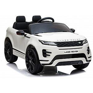 12V baterijski avto z daljincem LAND ROVER EVOQUE bele barve - Babycar