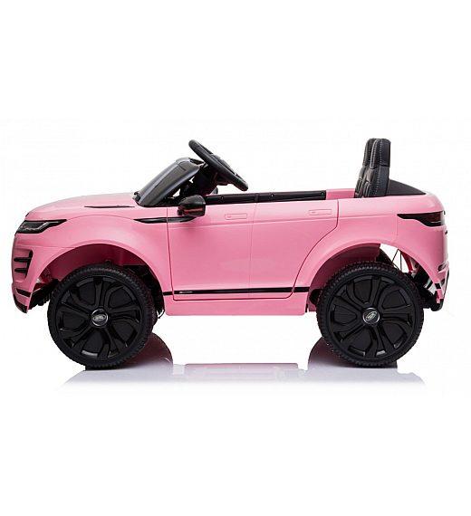 12V baterijski avto z daljincem LAND ROVER EVOQUE pink barve - Babycar