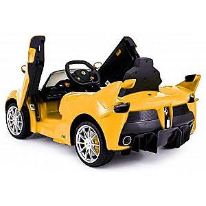 12V LAFERRARI Babycar rumen - avto na akumulator z daljincem